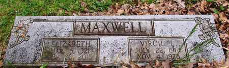 MAXWELL, ELIZABETH - Lawrence County, Tennessee | ELIZABETH MAXWELL - Tennessee Gravestone Photos