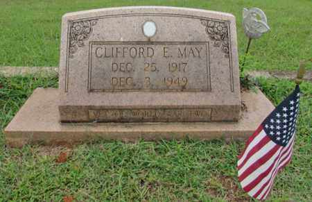 MAY, CLIFFORD E. - Lawrence County, Tennessee   CLIFFORD E. MAY - Tennessee Gravestone Photos