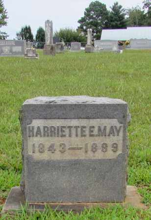 MAY, HARRIETTE E. - Lawrence County, Tennessee | HARRIETTE E. MAY - Tennessee Gravestone Photos