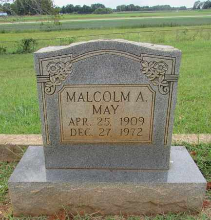 MAY, MALCOLM A. - Lawrence County, Tennessee | MALCOLM A. MAY - Tennessee Gravestone Photos