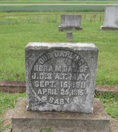 MAY, NORA M. - Lawrence County, Tennessee   NORA M. MAY - Tennessee Gravestone Photos