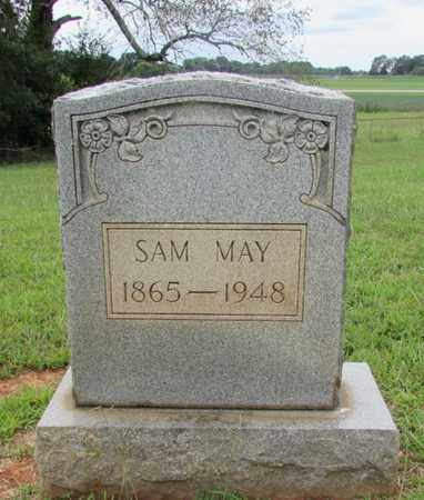 MAY, SAM - Lawrence County, Tennessee | SAM MAY - Tennessee Gravestone Photos