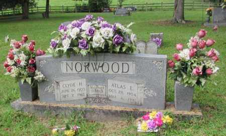 NORWOOD, ATLAS E. - Lawrence County, Tennessee | ATLAS E. NORWOOD - Tennessee Gravestone Photos