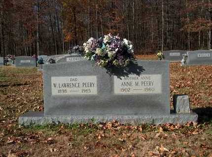 PEERY, W. LAWRENCE - Lawrence County, Tennessee | W. LAWRENCE PEERY - Tennessee Gravestone Photos