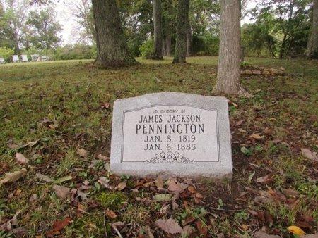 PENNINGTON, JAMES JACKSON - Lawrence County, Tennessee | JAMES JACKSON PENNINGTON - Tennessee Gravestone Photos