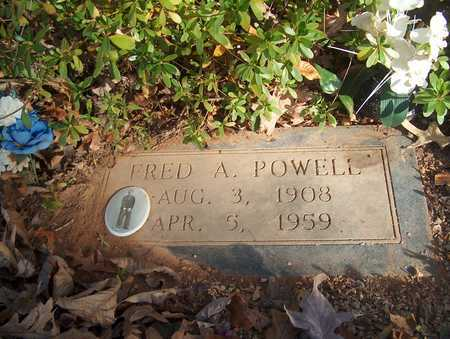 POWELL, FRED A. - Lawrence County, Tennessee | FRED A. POWELL - Tennessee Gravestone Photos