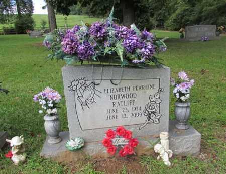 RATLIFF, ELIZABETH PEARLINE - Lawrence County, Tennessee | ELIZABETH PEARLINE RATLIFF - Tennessee Gravestone Photos