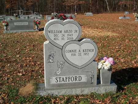 STAFFORD, WILLIAM ARZO JR. - Lawrence County, Tennessee | WILLIAM ARZO JR. STAFFORD - Tennessee Gravestone Photos