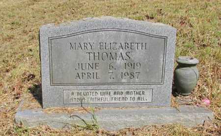 THOMAS, MARY ELIZABETH - Lawrence County, Tennessee   MARY ELIZABETH THOMAS - Tennessee Gravestone Photos