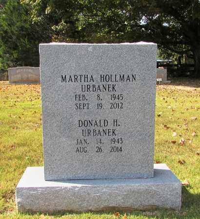 URBANEK, MARTHA - Lawrence County, Tennessee | MARTHA URBANEK - Tennessee Gravestone Photos