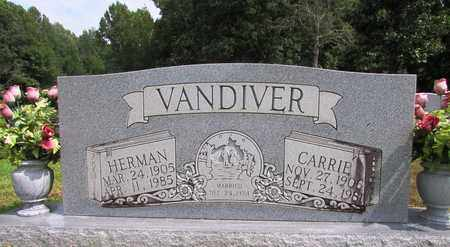 VANDIVER, CARRIE - Lawrence County, Tennessee | CARRIE VANDIVER - Tennessee Gravestone Photos