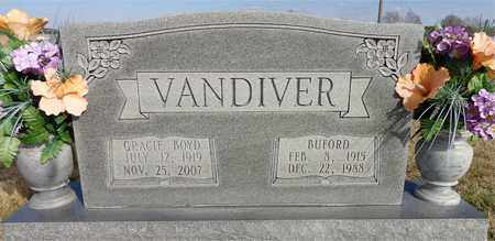 VANDIVER, GRACIE BOYD - Lawrence County, Tennessee | GRACIE BOYD VANDIVER - Tennessee Gravestone Photos