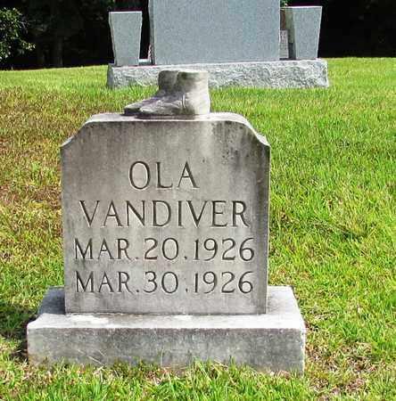 VANDIVER, OLA - Lawrence County, Tennessee | OLA VANDIVER - Tennessee Gravestone Photos