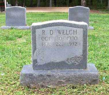 WELCH, R. D. - Lawrence County, Tennessee | R. D. WELCH - Tennessee Gravestone Photos