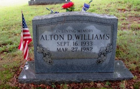 WILLIAMS, ALTON D. - Lawrence County, Tennessee | ALTON D. WILLIAMS - Tennessee Gravestone Photos