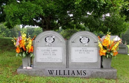 WILLIAMS, CARTHOL LARRY - Lawrence County, Tennessee | CARTHOL LARRY WILLIAMS - Tennessee Gravestone Photos