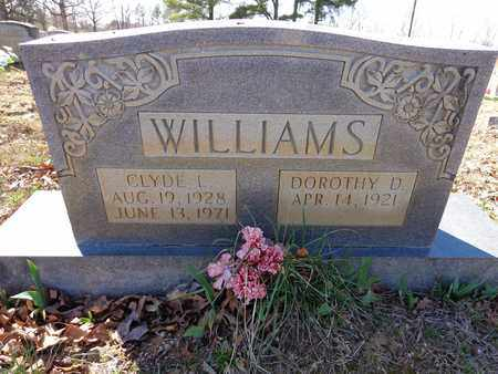 WILLIAMS, CLYDE L. - Lawrence County, Tennessee | CLYDE L. WILLIAMS - Tennessee Gravestone Photos