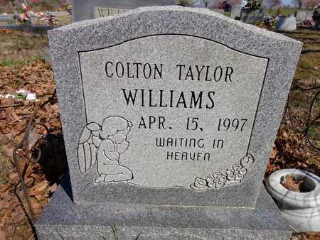 WILLIAMS, COLTON TAYLOR - Lawrence County, Tennessee | COLTON TAYLOR WILLIAMS - Tennessee Gravestone Photos