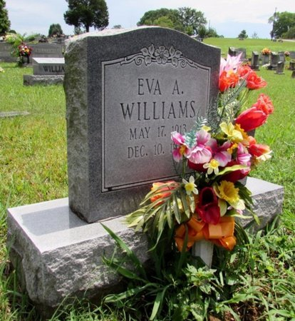 WILLIAMS, EVA A. - Lawrence County, Tennessee | EVA A. WILLIAMS - Tennessee Gravestone Photos
