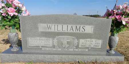 WILLIAMS, ELOIS BALLARD - Lawrence County, Tennessee | ELOIS BALLARD WILLIAMS - Tennessee Gravestone Photos
