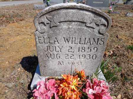 WILLIAMS, ELLA - Lawrence County, Tennessee | ELLA WILLIAMS - Tennessee Gravestone Photos