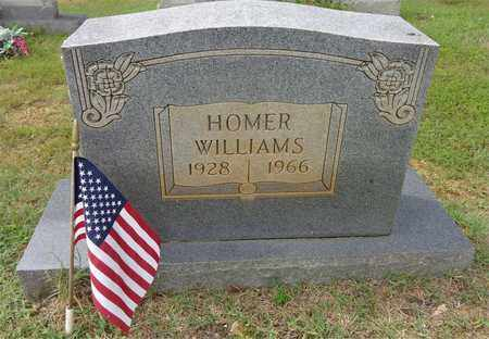 WILLIAMS, HOMER - Lawrence County, Tennessee | HOMER WILLIAMS - Tennessee Gravestone Photos