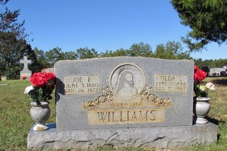 WILLIAMS, JOE F. - Lawrence County, Tennessee | JOE F. WILLIAMS - Tennessee Gravestone Photos