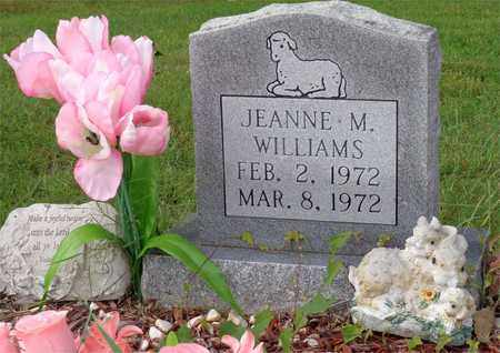 WILLIAMS, JEANNE M. - Lawrence County, Tennessee | JEANNE M. WILLIAMS - Tennessee Gravestone Photos