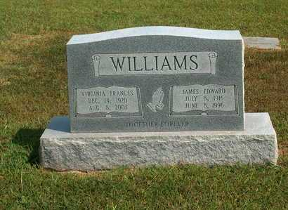 WILLIAMS, JAMES EDWARD - Lawrence County, Tennessee | JAMES EDWARD WILLIAMS - Tennessee Gravestone Photos