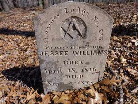 WILLIAMS, JESSEE - Lawrence County, Tennessee | JESSEE WILLIAMS - Tennessee Gravestone Photos