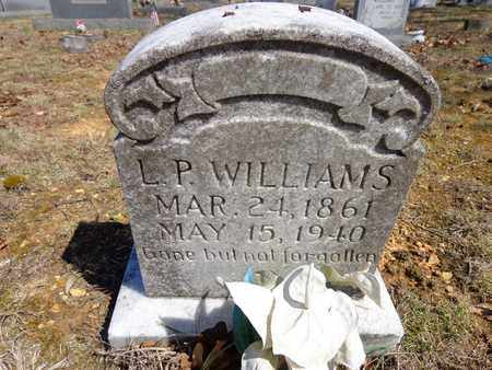 WILLIAMS, L. P. - Lawrence County, Tennessee | L. P. WILLIAMS - Tennessee Gravestone Photos
