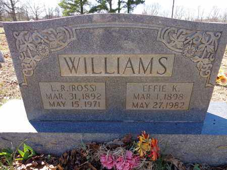 """WILLIAMS, L. R. """"ROSS"""" - Lawrence County, Tennessee 
