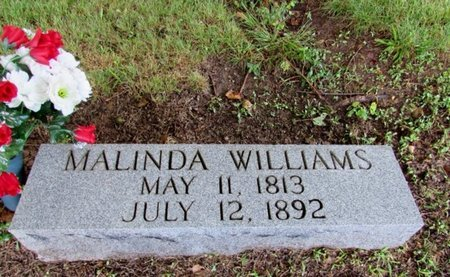 WILLIAMS, MALINDA - Lawrence County, Tennessee | MALINDA WILLIAMS - Tennessee Gravestone Photos
