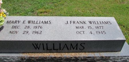 WILLIAMS, J. FRANK - Lawrence County, Tennessee | J. FRANK WILLIAMS - Tennessee Gravestone Photos
