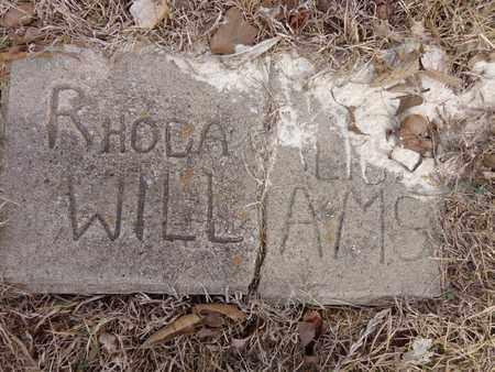 WILLIAMS, RHODA - Lawrence County, Tennessee | RHODA WILLIAMS - Tennessee Gravestone Photos