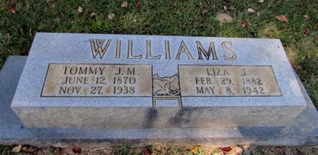 WILLIAMS, TOMMY J. M. - Lawrence County, Tennessee | TOMMY J. M. WILLIAMS - Tennessee Gravestone Photos