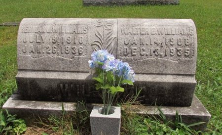 WILLIAMS, WALTER E. - Lawrence County, Tennessee | WALTER E. WILLIAMS - Tennessee Gravestone Photos