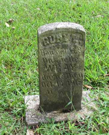 WRAY, RUBY - Lawrence County, Tennessee | RUBY WRAY - Tennessee Gravestone Photos