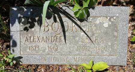 BOOKER, LEORA - Lewis County, Tennessee | LEORA BOOKER - Tennessee Gravestone Photos