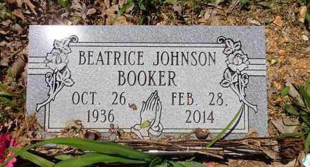 BOOKER, BEATRICE JOHNSON - Lewis County, Tennessee | BEATRICE JOHNSON BOOKER - Tennessee Gravestone Photos