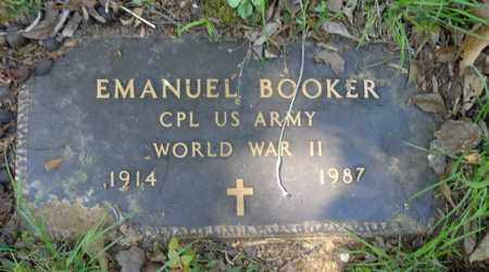 BOOKER, EMANUEL - Lewis County, Tennessee | EMANUEL BOOKER - Tennessee Gravestone Photos
