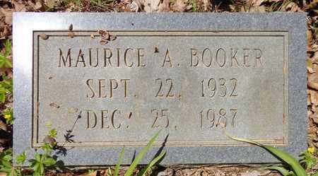 BOOKER, MAURICE A - Lewis County, Tennessee | MAURICE A BOOKER - Tennessee Gravestone Photos