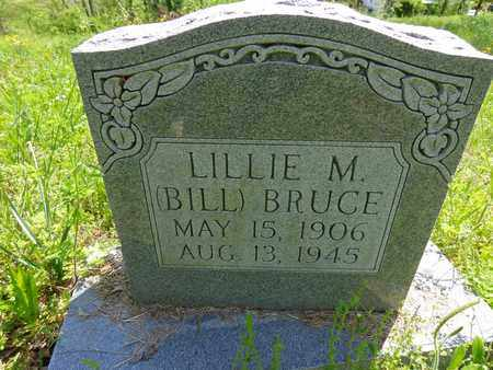 """BRUCE, LILLIE M """"BILL"""" - Lewis County, Tennessee 