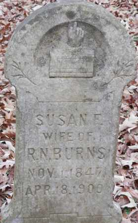 HARLOW BURNS, SUSAN F - Lewis County, Tennessee | SUSAN F HARLOW BURNS - Tennessee Gravestone Photos