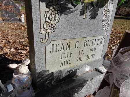 BUTLER, JEAN C. - Lewis County, Tennessee | JEAN C. BUTLER - Tennessee Gravestone Photos