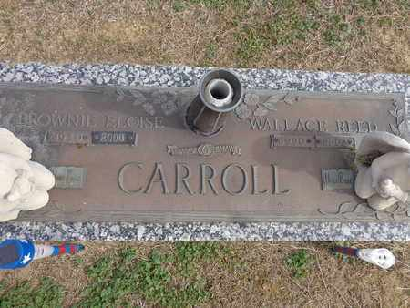 CARROLL, WALLACE REED - Lewis County, Tennessee | WALLACE REED CARROLL - Tennessee Gravestone Photos