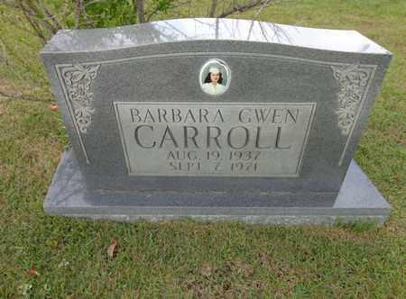 CARROLL, BARBARA GWEN - Lewis County, Tennessee | BARBARA GWEN CARROLL - Tennessee Gravestone Photos