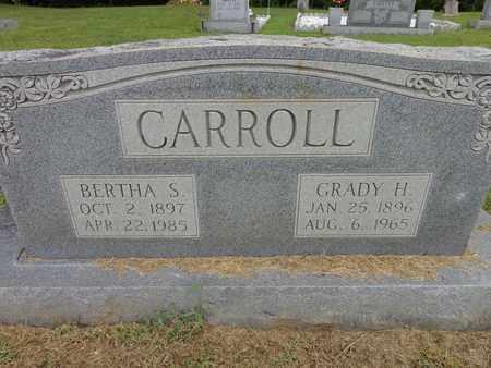 CARROLL, GRADY H - Lewis County, Tennessee | GRADY H CARROLL - Tennessee Gravestone Photos