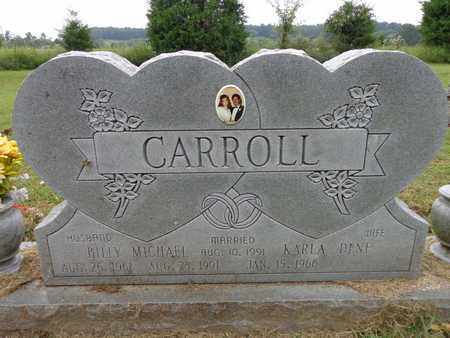CARROLL, BILLY MICHAEL - Lewis County, Tennessee | BILLY MICHAEL CARROLL - Tennessee Gravestone Photos