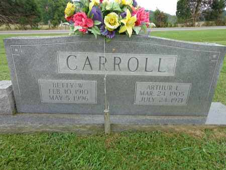 CARROLL, BETTY W - Lewis County, Tennessee | BETTY W CARROLL - Tennessee Gravestone Photos